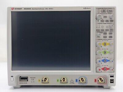Keysight Used Mso9404a Oscilloscope 4 Ghz 1020 Gsas416ch Win10