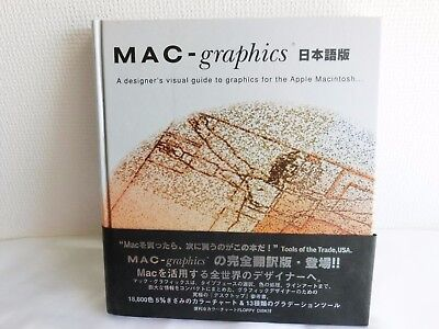 MAC graphics Computer Publishing Magazine Apple Japanese F/S Japan