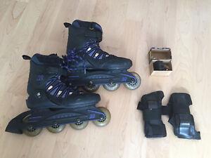 Patins roues-alignées K2 pour femme - Grandeur 7.5