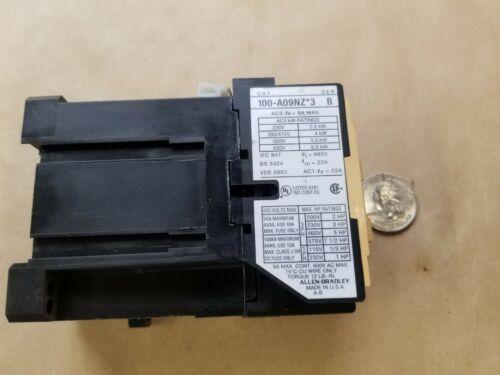 A-B/Allen-Bradley 100-A09NZ*3 Series B Contactor