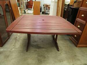 D7001 Solid JARRAH Outdoor Dining Table Unley Unley Area Preview
