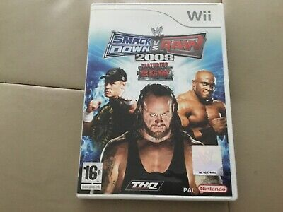 Wii Smackdown Vs Raw 2008 (Nintendo Wii), used for sale  Shipping to Nigeria