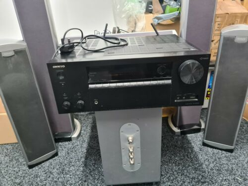 Onkyo TX-NR656 AV Receiver With Tannoy Arena TS 500 Sound System Speakers
