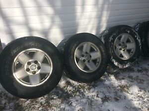 265/70/17's Dodge Ram Rims/Tires