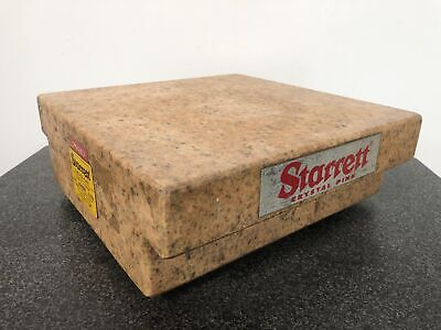Starrett Cm2253 Crystal Pink Granite Surface Plate Grade A - 12 X 12 X 4