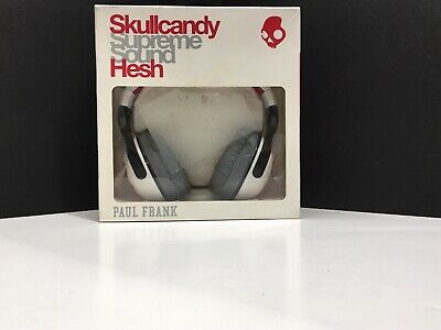 Skullcandy Hesh 2 Headphones Paul Frank Scholastic Julius/White/Black (D2)