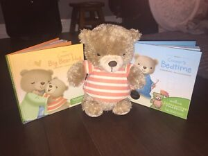 Hallmark Cooper Interactive Story Buddy with 2 books