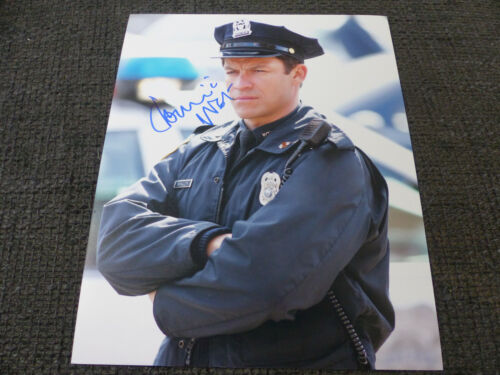 """DOMINIC WEST signed Autogramm auf 20x25 cm """"THE WIRE"""" Foto InPerson LOOK"""
