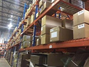 Warehouse Ready-Rack, ladders, tape guns, etc. For sale