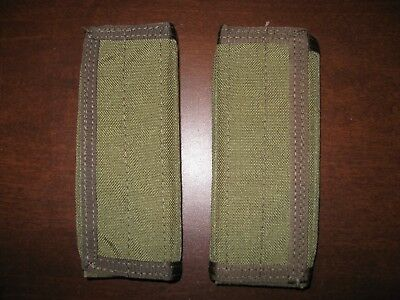 Eagle Industries 2 CIRAS shoulder pads khaki plate carrier vest strap SFLCS MLCS, used for sale  Las Vegas