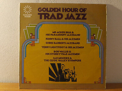 GOLDEN HOUR OF TRAD JAZZ Vinyl LP NM Acker Bilk, Kenny Ball, Chris Barber...