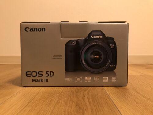 Canon EOS 5D Mark III DSLR Camera (Body Only) Black 5260B002