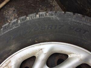 Dodge Journey dodge caravan winter tires