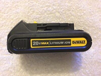 New Dewalt DCB201 20V 20 Volt Max 1.5Ah Battery Lithium Ion Li-Ion