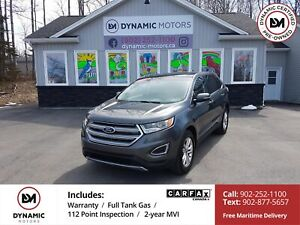2016 Ford Edge SEL AWD! LEATHER! NAV! PANO ROOF!