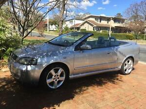 Holden Astra Turbo Convertible 2003