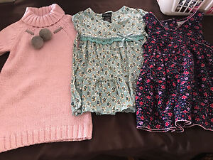 LOT SIZE 3 -3X TODDLER GIRLS CLOTHES