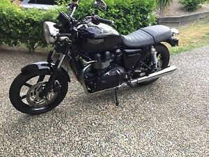 Triumph bonneville sell or swap for camper Oxenford Gold Coast North Preview