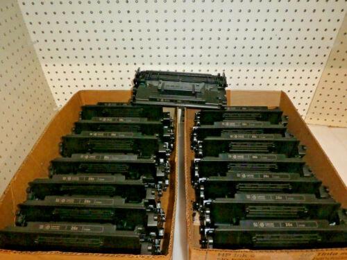 LOT OF 15 HP CF226X BLACK TONERS (HP 26x) FOR HP MFP M426 USED/EMPTY/Genuine!!
