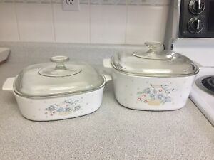 Corning ware casserole dishes kitchenware
