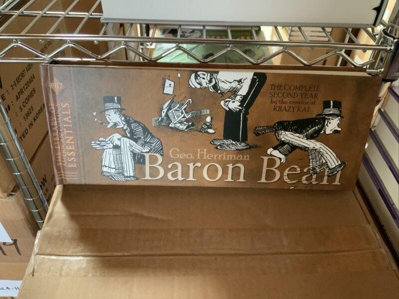 LOAC ESSENTIALS V. 6: BARON BEAN 1917 : HERRIMAN: BRAND NEW HARDCOVER