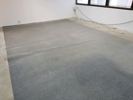 Free grey carpet