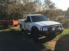 2003 Nissan navara 4X4 ute Wyee Lake Macquarie Area Preview