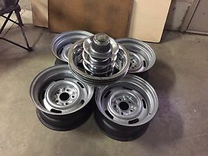 Corvette rally rims