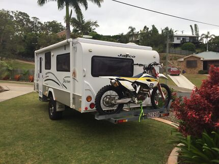 Jayco discovery toy hauler for sale