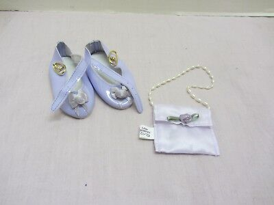 GOTZ LITTLE SISTERS DOLL TEA TIME PURSE AND SHOES FITS 18 INCH