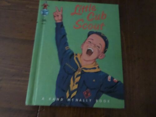 Little Cub Scout, A Rand McNally Book,1964(VINTAGE Children