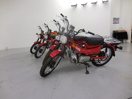 Australia Post Honda CT110 Postie bikes Perth Airport Belmont Area Preview