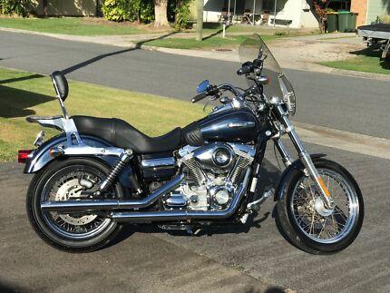 Harley Davidson Dyna Super Glide Custom Mudjimba Maroochydore Area Preview