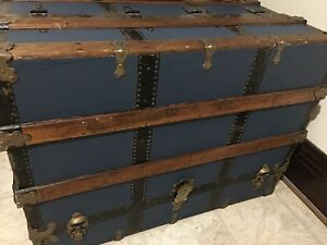 Tall Steamer Trunk