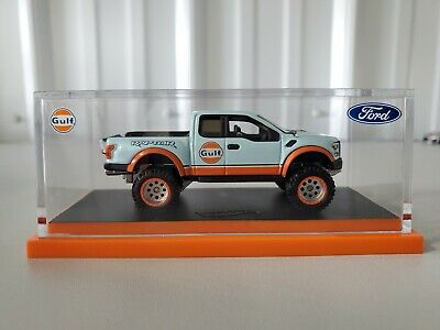2019 Hot Wheels RLC exclusive Ford F-150 Raptor Gulf Racing Truck limited 10,000