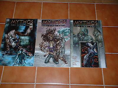 MYTHOS; THE FINAL TOUR ISSUES 1, 2 & 3  NM/NM- . DC / VERTIGO