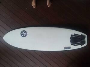 Surfboard Vessel Psycho Funboard 5'8