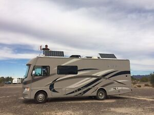 Class A Motorhome with Solar