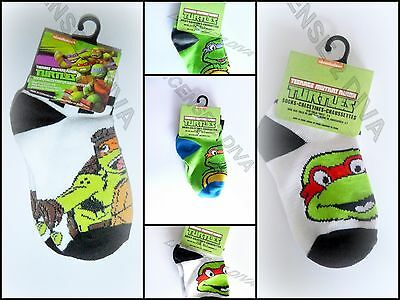 Teenage Mutant Ninja Turtles Kleinkind Socken Donatello Raphael Michelangelo