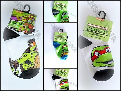 Teenage Mutant Ninja Turtles Kleinkind Socken Donatello Raphael Michelangelo ()