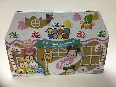 Tsum Tsum Disney Countdown to Christmas Advent Calendar 2016 New In Box