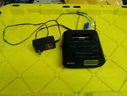 SONY - FM Alarm Clock Radio With iPod Dock - Model ICF-CO5iP