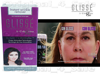(Glisse Instant Wrinkle, Lines and Eye Puffiness Reducer by Colageina 10)