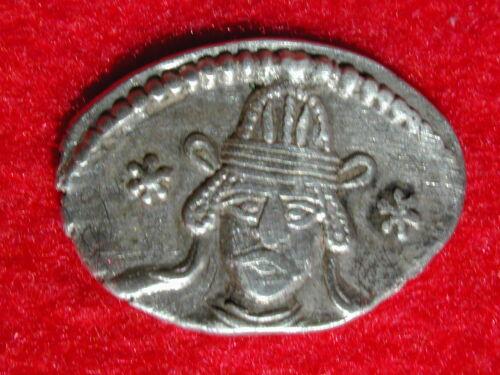51 AD Ecbatana Parthian Empire AR drachm 3.31 gm Vonones II Sellwood 67.1 RARE