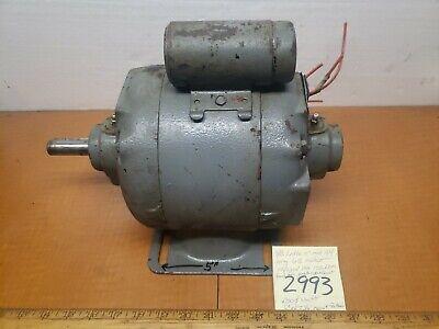 Southbend Lathe 11 Original Ge Motor 12hp 115230v 1ph .75 Shank Exc Running