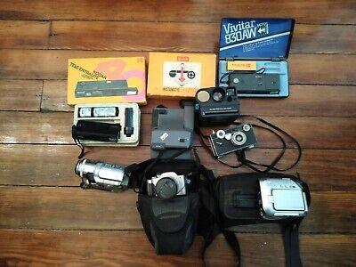 Panasonic PV-GS250 Mini DV Camcorder lot 10 cameras Untested