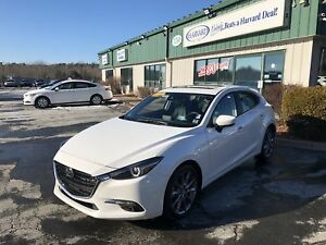 2018 Mazda Mazda3 GT CLEAN CARFAX/ONE OWNER/HEADS UP DISPLAY/...