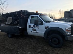 2008 Ford F550 Roll Off Truck