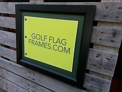 16x20 Black Golf Flag Frame, blk-003, (holds 13x17 Masters Flag; Flag not incl)