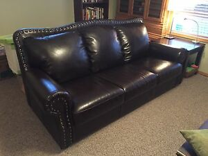 Elegant Leather Couch For Sale
